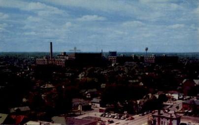 General Electric - Fort Wayne, Indiana IN Postcard