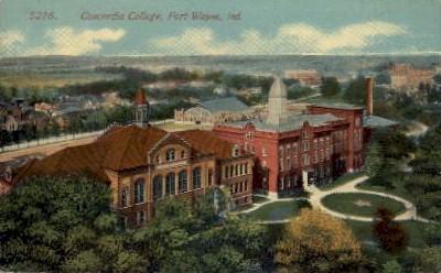 Concordia College - Fort Wayne, Indiana IN Postcard