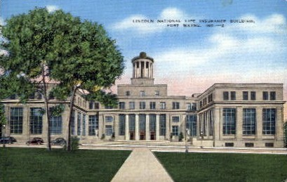 Lincoln National Life Insurance Building - Fort Wayne, Indiana IN Postcard