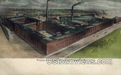 Wayne Knitting Mills - Fort Wayne, Indiana IN Postcard