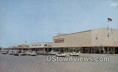 Northcrest Shopping Center - Fort Wayne, Indiana IN Postcard