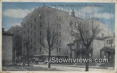 New Hope Hospital, Fort Wayne - Indiana IN Postcard