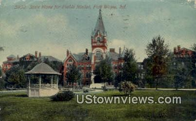 State Home for Feeble Minded - Fort Wayne, Indiana IN Postcard