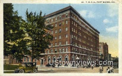 YMCA, Fort Wayne - Indiana IN Postcard
