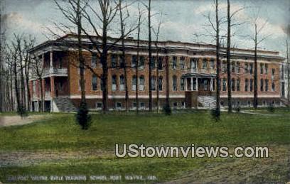 Fort Wayne Bible Training School - Indiana IN Postcard