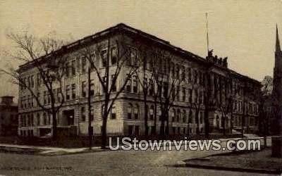 High School, Fort Wayne - Indiana IN Postcard
