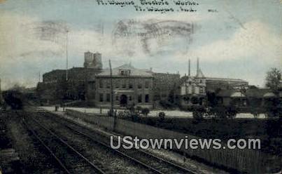 Ft Wayne Electric Works - Fort Wayne, Indiana IN Postcard