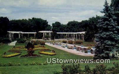 Lakeside Park - Fort Wayne, Indiana IN Postcard