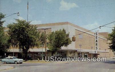 Sears Roebuck & Co - Fort Wayne, Indiana IN Postcard