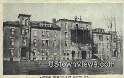 Lutheran Hospital - Fort Wayne, Indiana IN Postcard