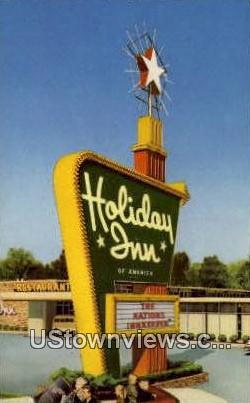 Holiday Inn - Fort Wayne, Indiana IN Postcard