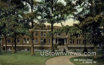 Bible Training School - Fort Wayne, Indiana IN Postcard