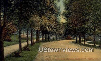 Swinney Park - Fort Wayne, Indiana IN Postcard