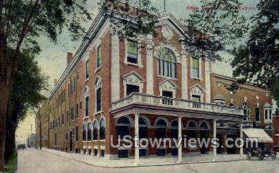 Elk's Temple - Fort Wayne, Indiana IN Postcard