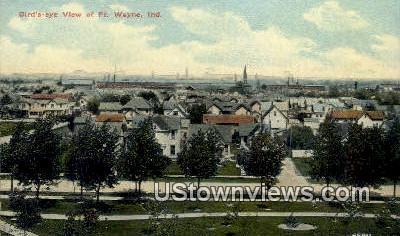 Fort Wayne, Indiana, IN, Postcard