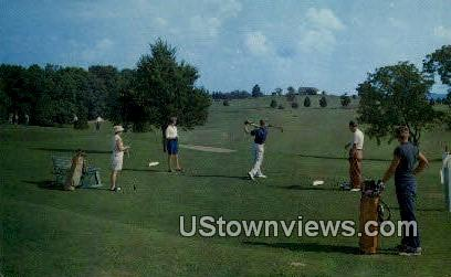 Country Club Course, French Lick-Sheraton Hotel - Indiana IN Postcard