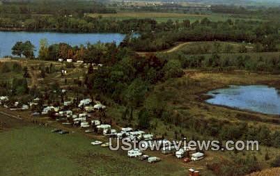Twin Mills Resort - Howe, Indiana IN Postcard