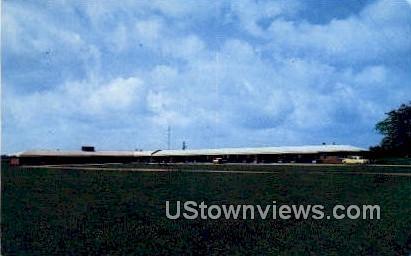 Bailey Motel - Howe, Indiana IN Postcard