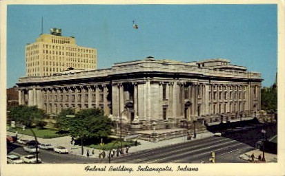 Federal Building - Indianapolis Postcards, Indiana IN Postcard