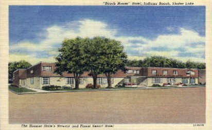 Beach House Hotel - Indianapolis Postcards, Indiana IN Postcard