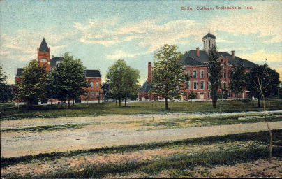 Butler College - Indianapolis Postcards, Indiana IN Postcard