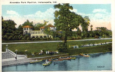 Riverside Park - Indianapolis Postcards, Indiana IN Postcard