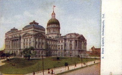 State Capitol - Indianapolis Postcards, Indiana IN Postcard