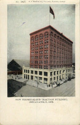 New Terminaland Traction Building - Indianapolis Postcards, Indiana IN Postcard