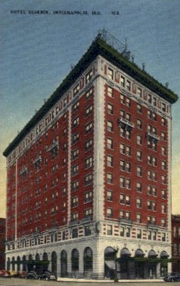 Hotel Severin - Indianapolis Postcards, Indiana IN Postcard
