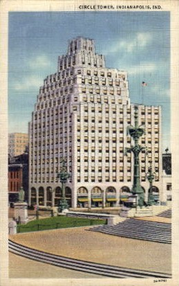Circle Tower - Indianapolis Postcards, Indiana IN Postcard