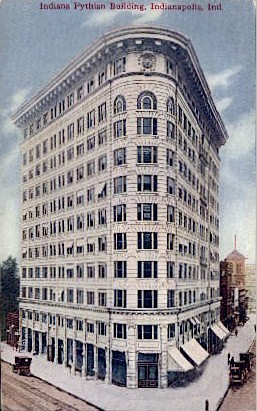Pythian Building - Indianapolis Postcards, Indiana IN Postcard