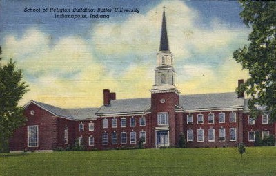 School of Religion Building, Butler University - Indianapolis Postcards, Indiana IN Postcard