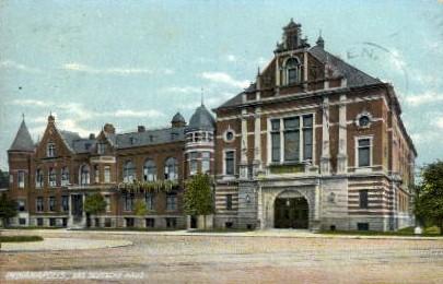 Das Deutsche Haus, Indianapolis - Indianapolis Postcards Postcard