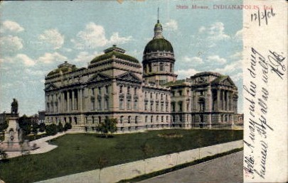 State House - Indianapolis Postcards, Indiana IN Postcard