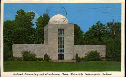 Butler University - Indianapolis Postcards, Indiana IN Postcard