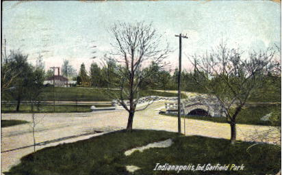Garfield Park - Indianapolis Postcards, Indiana IN Postcard