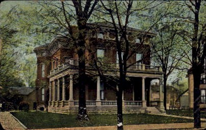 Marrison Residence - Indianapolis Postcards, Indiana IN Postcard