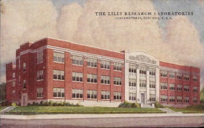 The Lilly Research Laboratories - Indianapolis Postcards, Indiana IN Postcard