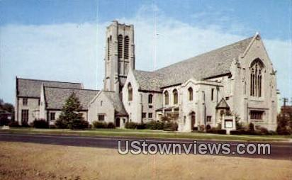 Broadway Methodist Church - Indianapolis Postcards, Indiana IN Postcard