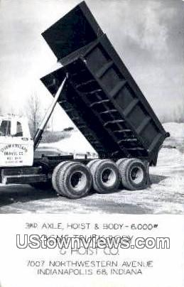 ACME Truck Body & Hoist Co - Indianapolis Postcards, Indiana IN Postcard
