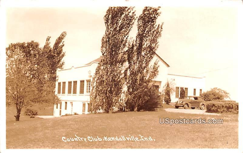 Country Club - Kendallville, Indiana IN Postcard