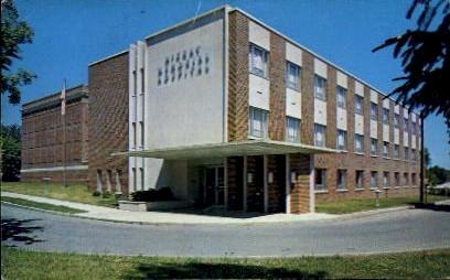 McCray Memorial Hospital - Kendallville, Indiana IN Postcard