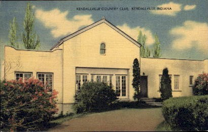 Kendallville Country Club - Indiana IN Postcard