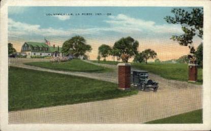 Country Club - La Porte, Indiana IN Postcard