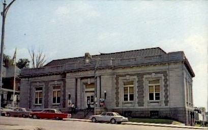 Cass County Post Office - Logansport, Indiana IN Postcard