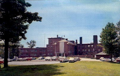 Cass County Memorial Hospital - Logansport, Indiana IN Postcard