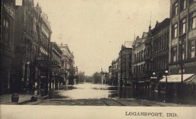 Logansport - Indiana IN Postcard