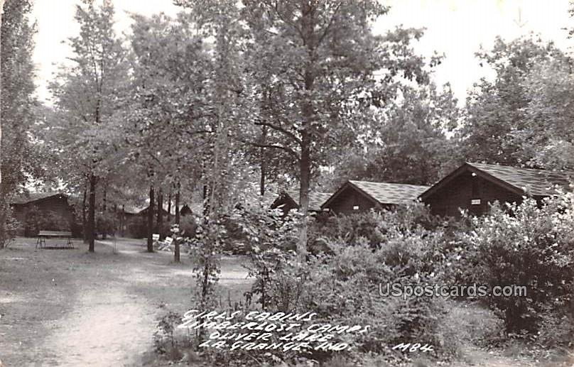 Girls Cabins - La Grange, Indiana IN Postcard