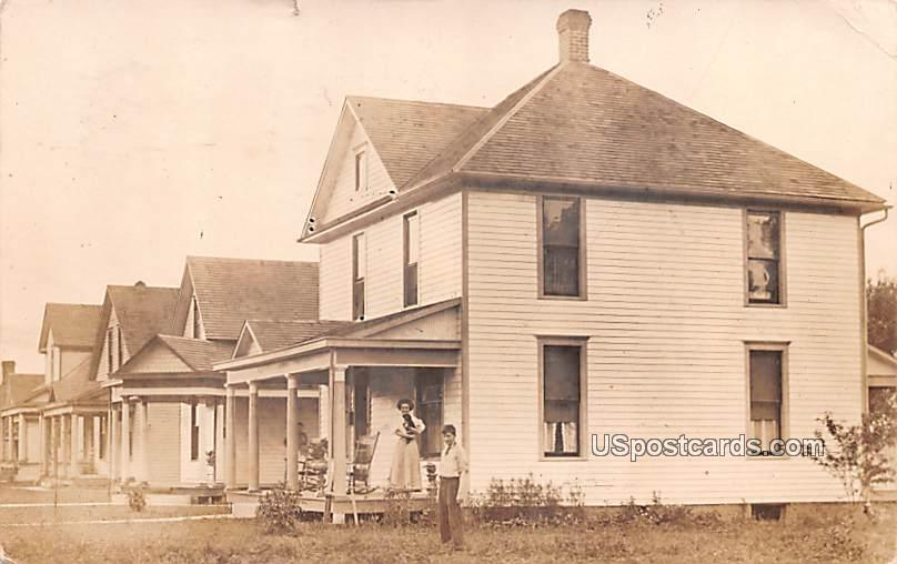Residence Scene - Logansport, Indiana IN Postcard