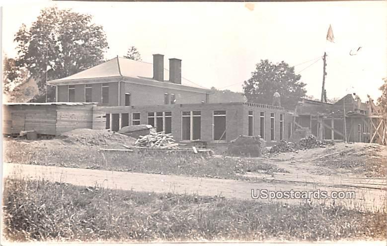 House Damage - Logansport, Indiana IN Postcard